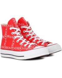 JW Anderson - X Converse Chuck 70 Logo-print Sneakers - Lyst