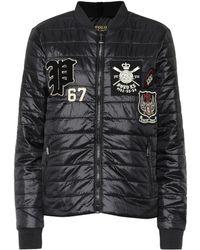 Polo Ralph Lauren - Appliquéd Quilted Jacket - Lyst