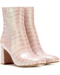 Maryam Nassir Zadeh - Exclusive To Mytheresa.com – Agnes Leather Ankle Boots - Lyst