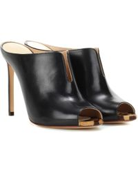 Francesco Russo - Leather Mules - Lyst