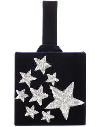 Sanayi 313 - Stelle Embroidered Velvet Clutch - Lyst