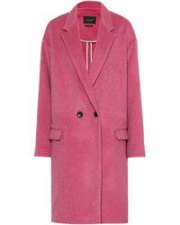 Isabel Marant - Filipo Wool And Cashmere-blend Coat - Lyst