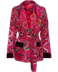 F.R.S For Restless Sleepers - Armonia Silk Pyjama Jacket - Lyst