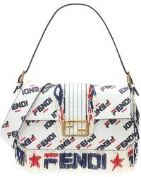Fendi Mini 3baguette Stud-embellished Cross-body Bag - Lyst 208b95918eed7