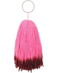 CALVIN KLEIN 205W39NYC - Wool Pompom Bag Charm - Lyst