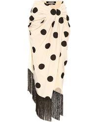 Jacquemus - La Jupe Pareo Polka-dot Wrap Skirt - Lyst