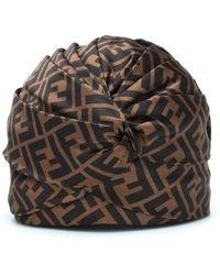 Fendi - Silk Turban - Lyst b8be8482d