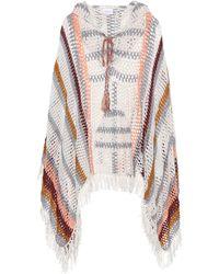 Anna Kosturova - Sahara Crocheted Cotton Poncho - Lyst