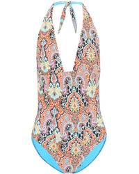 Etro Badeanzug mit Print
