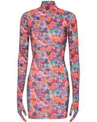 Vetements - Floral Glove Dress - Lyst
