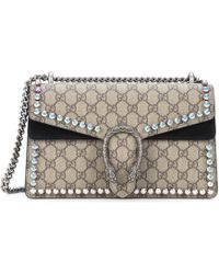 Gucci | Dionysus Gg Supreme Small Coated Canvas Shoulder Bag | Lyst