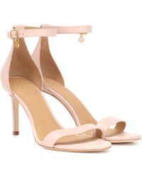Tory Burch - Ellie 85 Leather Sandals - Lyst