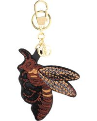 Gucci - Embroidered Bag Charm - Lyst