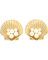 Jennifer Behr - Sirena Clip-on Earrings - Lyst