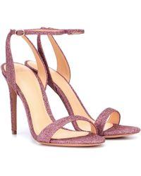 Alexandre Birman - Santine Glitter Sandals - Lyst