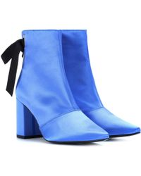 b6380f69072 Lyst - Steve Madden Womens P-karli Platform Lace Up Heel Shoe in Brown