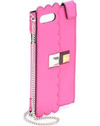 Fendi - Iphone 7 Plus Leather Case - Lyst