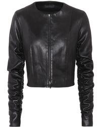 The Row - Razna Leather Jacket - Lyst