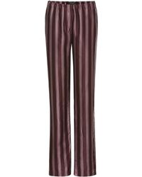 Burberry - Printed Pyjama Trousers - Lyst