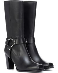 Altuzarra - Lucy Harness Leather Boots - Lyst
