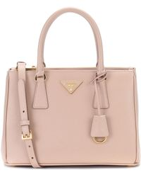 Prada | Galleria Saffiano Small Leather Tote | Lyst