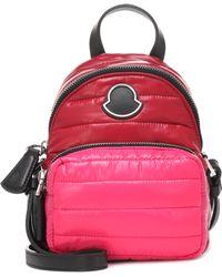 Moncler - Leather-trimmed Shoulder Bag - Lyst
