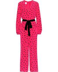Valentino - Polka Dot Jumpsuit - Lyst