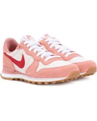 Nike - Internationalist Suede Sneakers - Lyst
