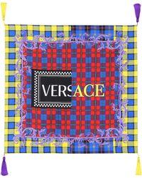 Versace - Exclusive To Mytheresa. Com – Tasselled Silk Twill Scarf - Lyst