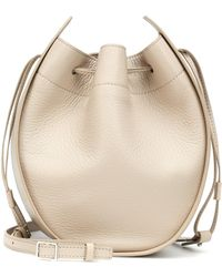 The Row - Drawstring Pouch Shoulder Bag - Lyst