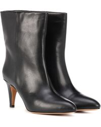 Isabel Marant - Dailan Leather Ankle Boots - Lyst