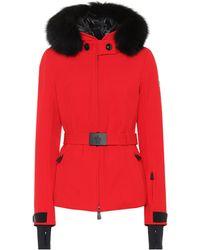 Moncler Grenoble - Bauge Fur-trimmed Down Ski Jacket - Lyst
