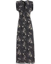 Tomas Maier - Floral-printed Silk Dress - Lyst