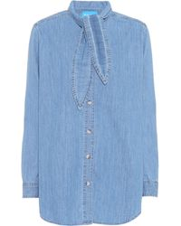 M.i.h Jeans - Booker Chambray Shirt - Lyst