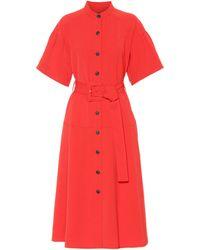 Proenza Schouler - Crêpe Shirt Dress - Lyst
