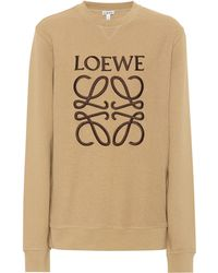 Loewe - Bestickter Pullover aus Baumwolle - Lyst