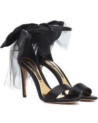 Alexandre Vauthier - Bow Down Sandals - Lyst