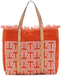 Tory Burch - Towel T Terry Tote - Lyst