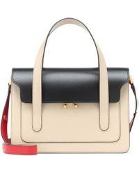 Marni - Trunk Leather Tote - Lyst