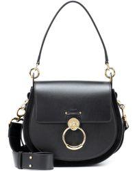 Chloé - Tess Large Leather Shoulder Bag - Lyst