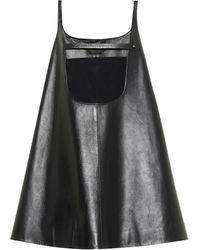 Prada - Minikleid aus Leder - Lyst