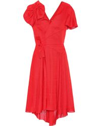 Delpozo - Asymmetric Dress - Lyst