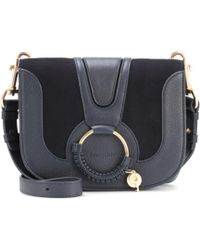 See By Chloé - Hana Medium Leather Shoulder Bag - Lyst