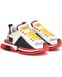 Dolce & Gabbana Sneakers Super Queen aus Leder
