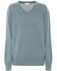 The Row - Pullover Maley in cashmere - Lyst