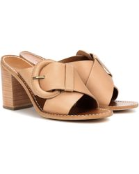 Zimmermann - Leather Mules - Lyst