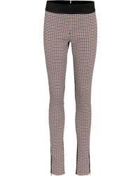 Stella McCartney Wool-blend Plaid Trousers