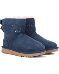 UGG - Dae Sunshine Perf Ankle Boots - Lyst