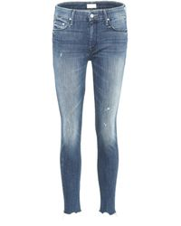 Mother - The Looker Ankle Chew Jeans - Lyst