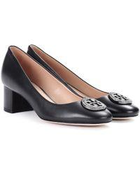 Tory Burch - Zapatos de tacón de cuero Liana - Lyst